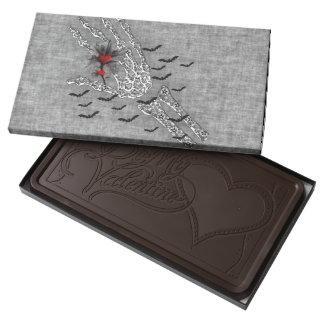 Skeletal Hand Of Love Dark Chocolate Bar