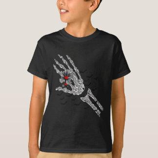 Skeletal Hand Of Love T-Shirt