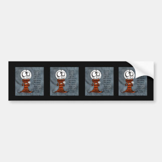 Skeletal Head-Goody Goody Bumper Stickers