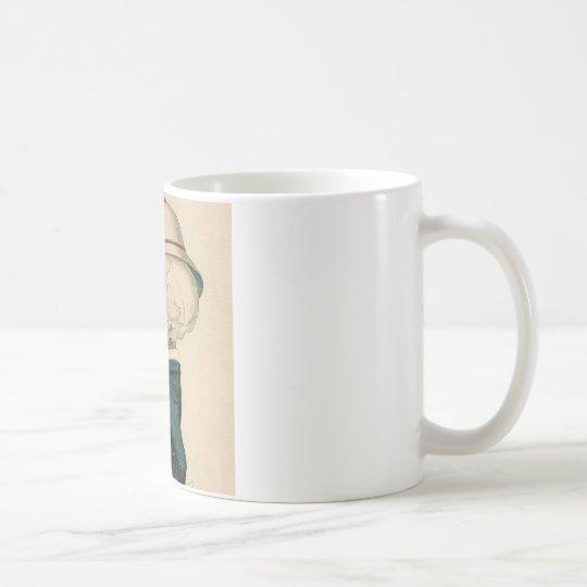 Skeletal Officer Coffee Mug