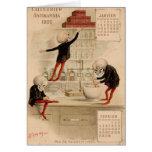 Skeletal Pharmacy Greeting Cards
