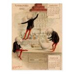 Skeletal Pharmacy Post Cards