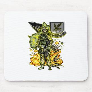 Skeletal Soldier Mouse Pad