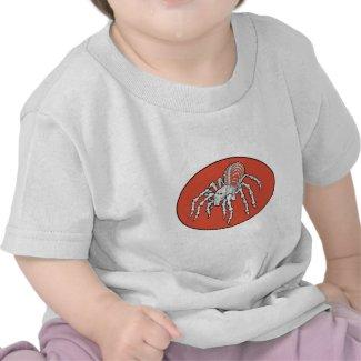 Skeletal Tarantula baby Tee Shirt
