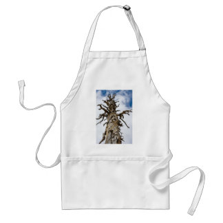 Skeletal Tree with Clouds Adult Apron