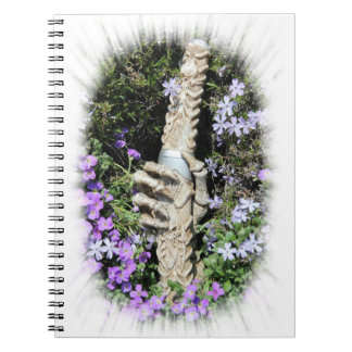 Skelethand Gothic/notebook Notebook