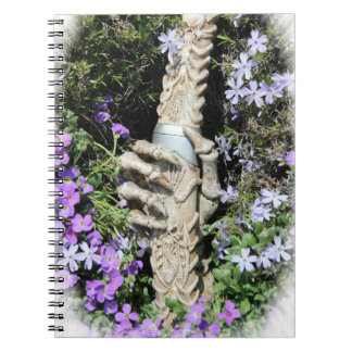 Skelethand Gothic/notebook Spiral Notebook