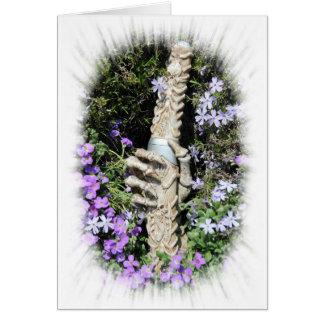 Skelethand - Gothic, tarjeta/ Tarjeta De Felicitación