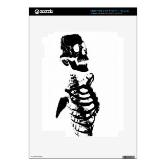 Skeleton #4 iPad 3 skin