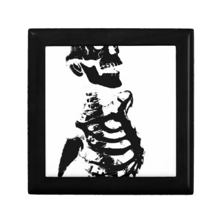 Skeleton #4 keepsake box
