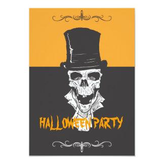 Skeleton 5x7 Paper Invitation Card