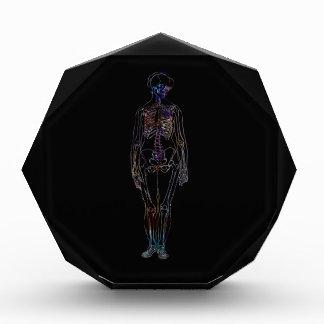 Skeleton Acrylic Award