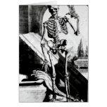 Skeleton Anatomia humani corporis Greeting Card