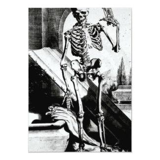 Skeleton Anatomia humani corporis 5x7 Paper Invitation Card