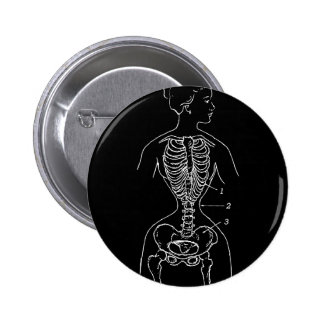 Skeleton and Corset Pins
