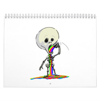 SkELeToN AnD FriEnDs Wall Calendar