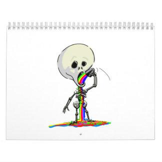 SkELeToN AnD FriEnDs Calendar