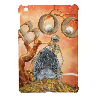 Skeleton and Grave iPad Mini Cases