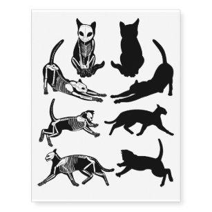 ef1f24e80 Skeleton and shadows temporary tattoos. Skeleton and shadows temporary  tattoos. $15.80. 15% Off with code ZBECREATIVEZ. Crazy Cat Lady Hipster  Silhouette ...