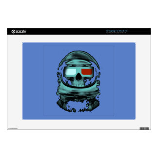 Skeleton atronaut laptop skins