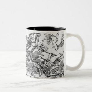 skeleton attack mug
