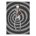 Skeleton Bagpipe Player Greeting Card