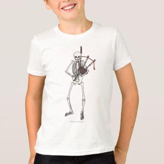 Skeleton Bagpipe Player T-Shirt