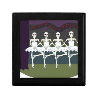 Skeleton Ballerinas Keepsake Box