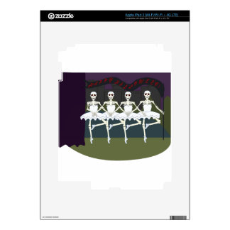 Skeleton Ballerinas Skins For iPad 3