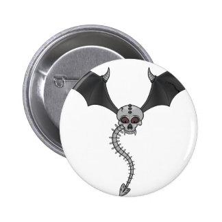 skeleton bat button