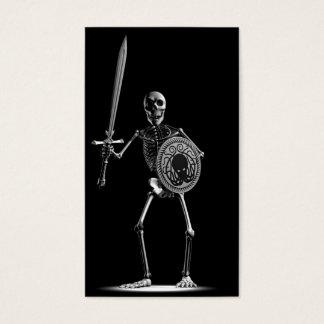 Skeleton Battle Business Card