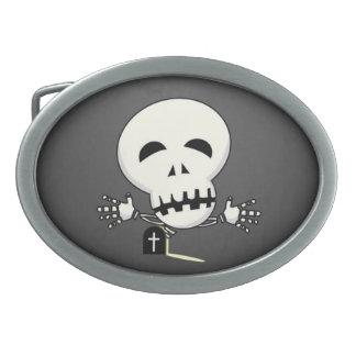Skeleton Belt Buckle