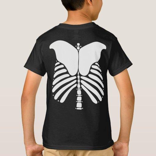 Skeleton Bones Kids T Shirt Zazzle