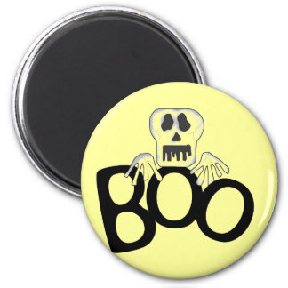 Skeleton Boo Tshirts and Gifts 2 Inch Round Magnet