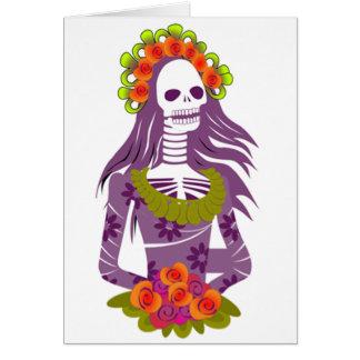 Skeleton Bride Greeting Card