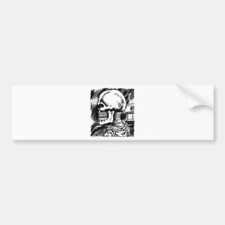 Skeleton Bumper Sticker