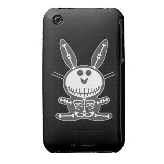 Skeleton Bunny Case-Mate iPhone 3 Case