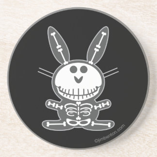 Skeleton Bunny Coasters