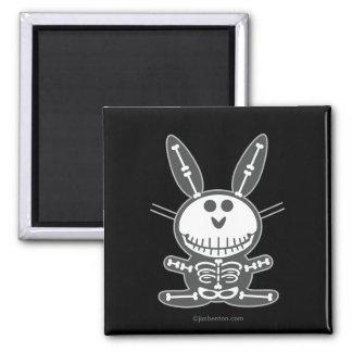 Skeleton Bunny Magnet
