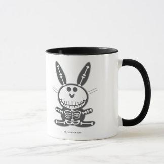 Skeleton Bunny Mug