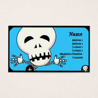 Skeleton Business Card