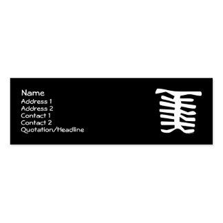 Skeleton Business Card Templates