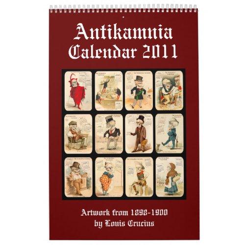 Skeleton Calendar 2011 - Antikamnia - Crucius calendar