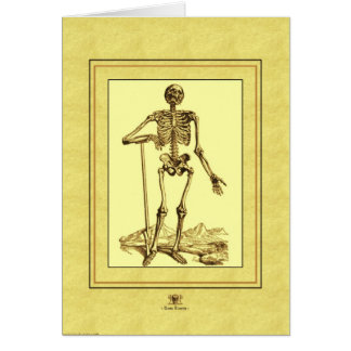 Skeleton Card