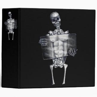 "Skeleton Chest Xray 2"" Binder"