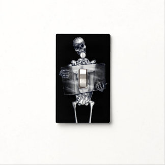 Skeleton Chest Xray Light Switch Cover