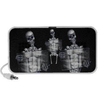 Skeleton Chest Xray Speaker