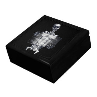 Skeleton Chest Xray Tile Gift Box