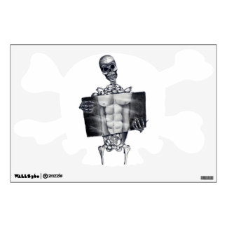 Skeleton Chest Xray Wall Decal