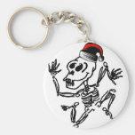 Skeleton Christmas Key Chains